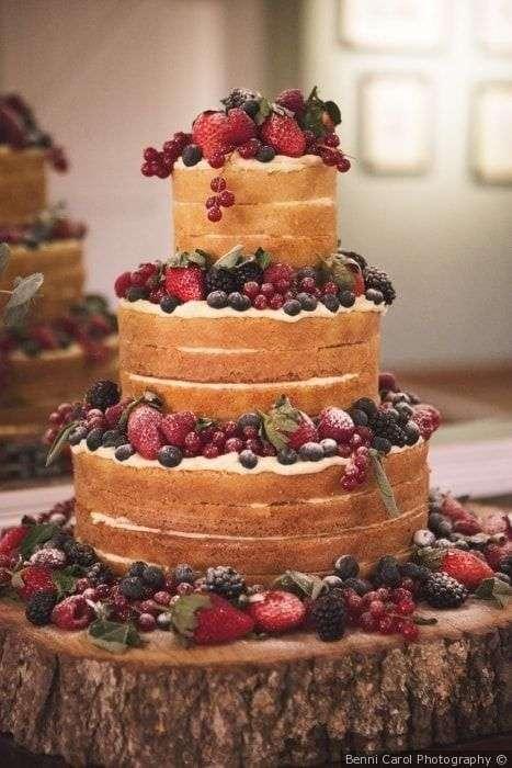 Naked Cake Matrimonio Country Chic