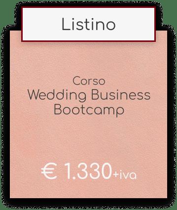 Wedding Business Bootcamp