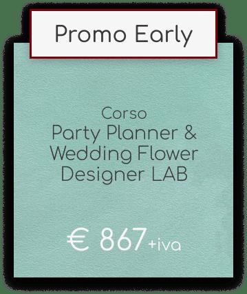 Corso Wedding Flower Designer & Party Planner Lab