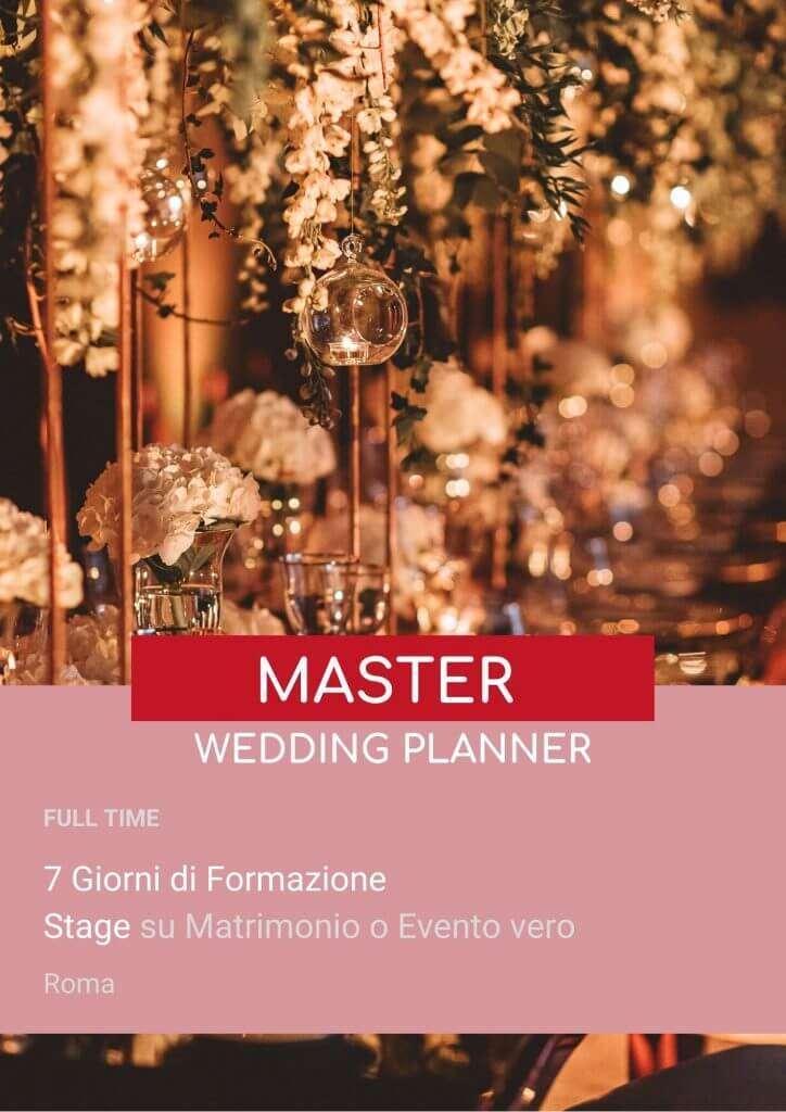 Locandina 7 giorni formazione Wedding Planner